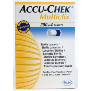 Accu-Chek Multiclix 204 Lancetten