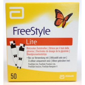 ADC Freestyle Lite 50 Teststrips