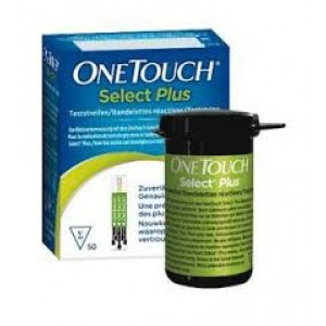 LifeScan OneTouch Select Plus 50 Teststrips